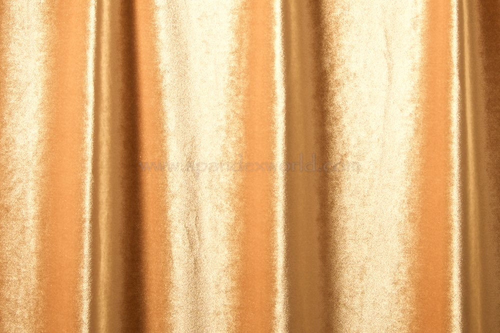 2 Way Stretch Solid Velvet (Nude)