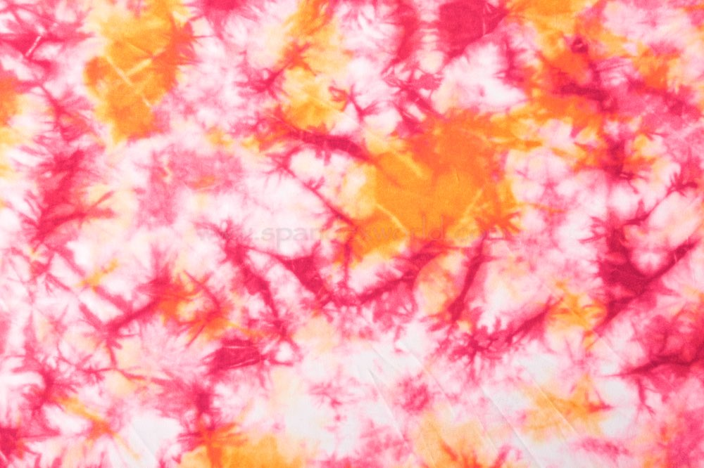 Tie dye prints (Orange/Pink)