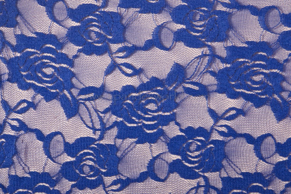 Stretch Lace (Royal Blue)