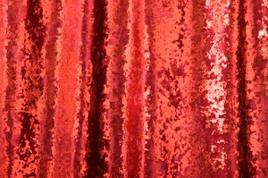 Glitter/Pattern Stretch Velvet (Burgundy/Red)