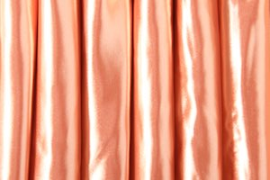 Heavy Weight Satin Spandex (Peach)