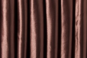 Heavy weight Satin Spandex (Dark Brown)