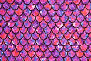 Fish scale Hologram (Black/Purple/Multi/Red Holo)