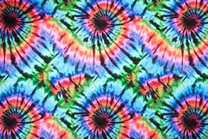 Tie dye prints (Green/Blue/Pink/Multi)