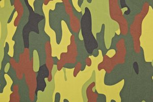 Printed Camouflage (Black/Olive/Green/Multi)