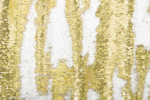 Reversible Sequins(White/Gold)
