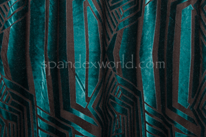 Burnout Velvet (Teal)