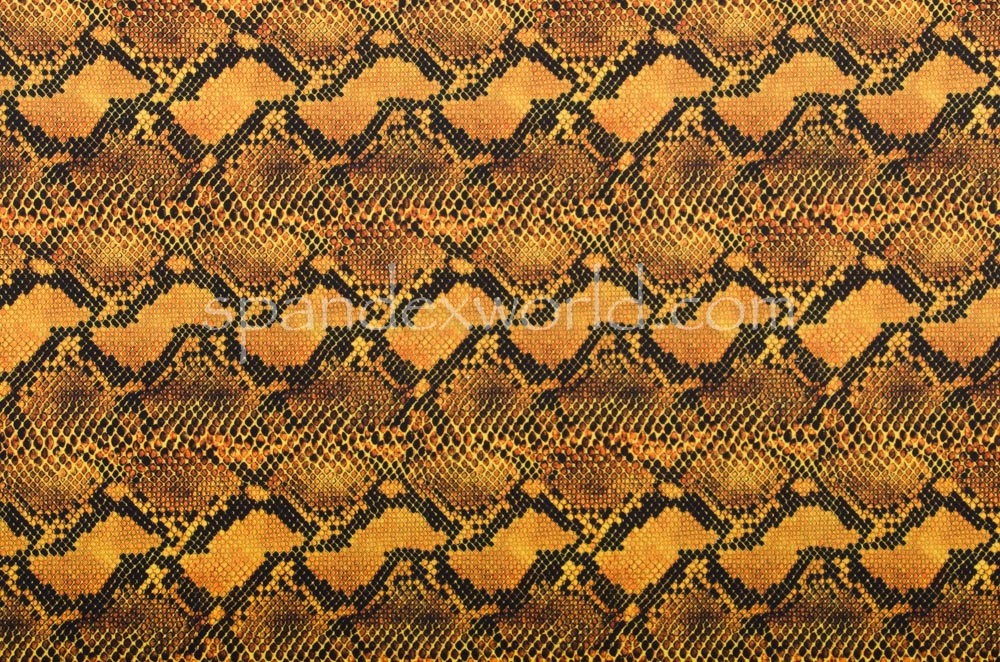 Snake Prints (Gold/Black)