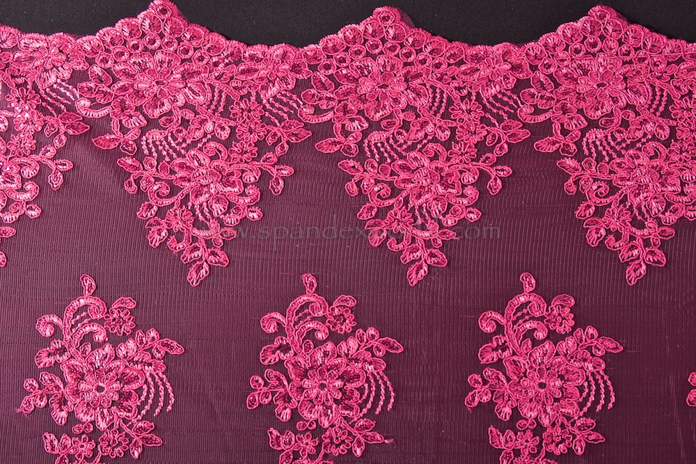Non Stretch Sequins (Fuchsia/Fuchsia)