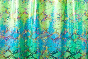 Snake Prints Hologram (Green/Blue/Multi)