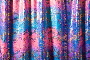 Snake Prints Hologram (Blue/Hot Pink/Multi)