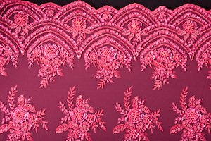 Non-Stretch Sequins (Pink/Pink)