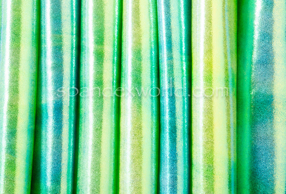 Tie Dye Mystique (Green/Blue/Yellow)