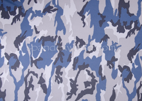 Printed Camouflage (Black/Blue/Grey)