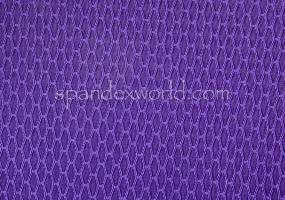 Novelty spandex (Purple)