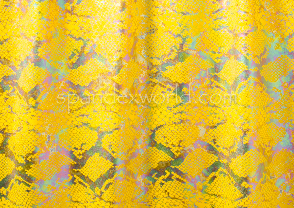 Snake Prints Hologram (Yellow/Multi)