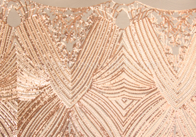 Stretch Sequins (Blush/Nude)