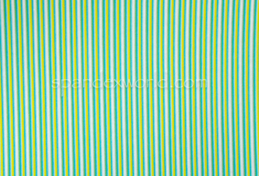 Printed Stripes(Lime/Green/White)