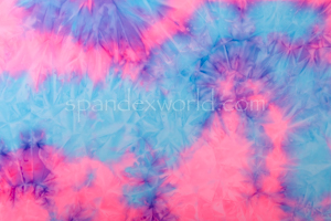 Tie dye spandex (Purple/Pink/Multi)