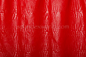 Animal Pattern Vinyl (Red)