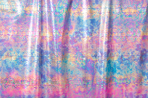 Snake Prints Hologram (Blue/Fuchsia/Multi)