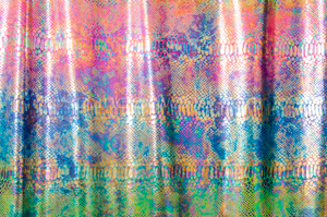Snake Prints Hologram (Pink/Yellow/Multi)