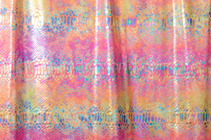 Snake Prints Hologram (Orange/Yellow/Multi)
