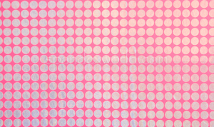 Holographic polka Dots (Pink/Silver)