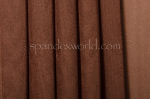 Stretch Solid Mesh-shiny (Brown)