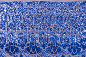 Stretch Sequins (Royal Blue/Dark Royal Blue)
