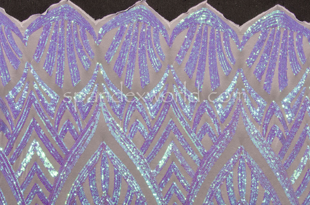 Stretch Sequins (Lt. Lilac/Lilac Pearl)