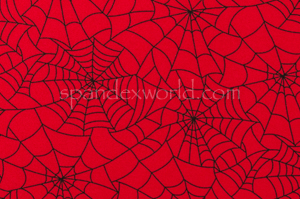 Spider  Prints  (Red/Black)