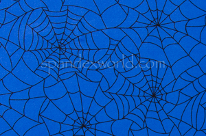 Spider  Prints  (Royal/Black)