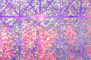 Pattern/Abstract Hologram (Purple multi)