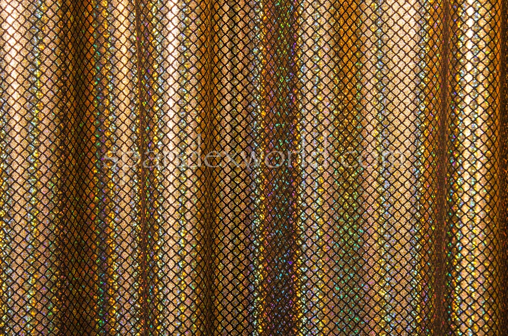 Pattern Abstract Hologram (Black/Gold Holo)