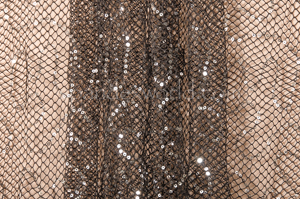Fishnet Sequins (Black/Silver)