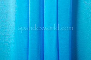 Stretch Solid Mesh -Shiny (Turquoise)