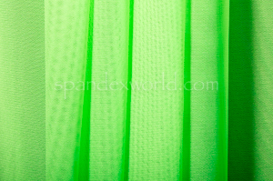 Stretch Solid Mesh-Shiny (Neon Lime)