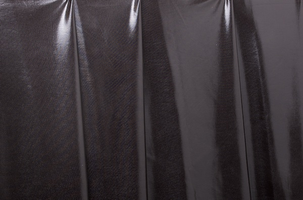 2 Way Metallic Spandex (Black)