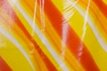 Pattern/Abstract Hologram (Orange/Yellow Tie Dye/Clear)