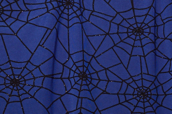 Glitter/Pattern Mesh (royal/black)