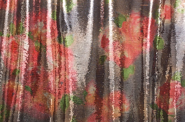 Stretch Sequins (Red/Green/Multi)