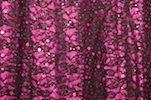Stretch Sequins Lace (Black/Magenta)