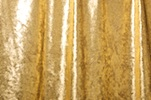 Metallic Stretch Velvet (Gold)
