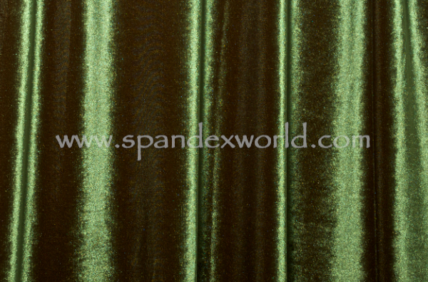 2 Way Stretch Solid Velvet (Olive)