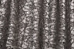 Stretch Sequins Lace (Black/Silver)