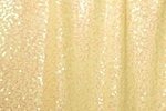 Stretch Sequins (Butter Yellow/Pearl)