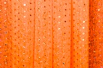 Sheer Glitter/Pattern (Neon Orange/Orange)