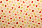 Printed Polka Dots (Beige/Red/Green/Multi)