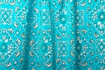 Pattern/Abstract Hologram (Turquoise/Silver)